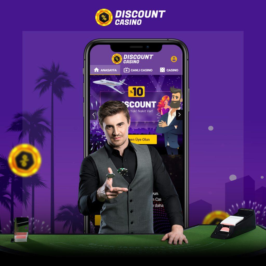 Discount Casino İndir ve Casino Discount Giriş